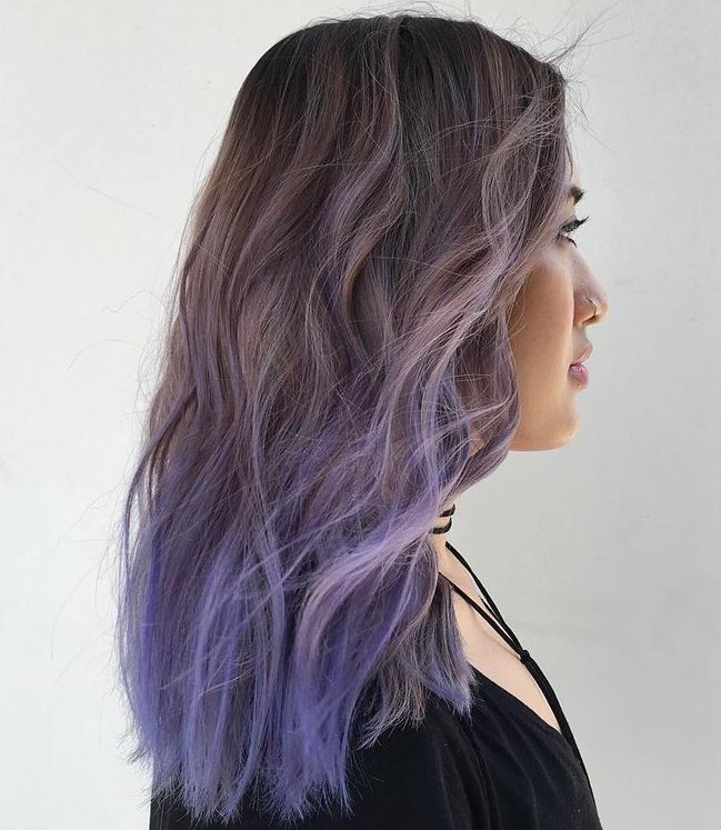 30 luxuriously royal purple ombre hair color ideas 27bluish purple ombre solutioingenieria