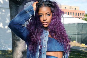 bold ombre curls