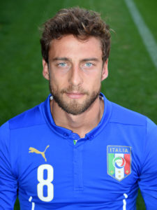 claudio marchisio curly taper cut