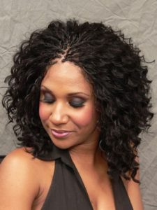 curly volume braids