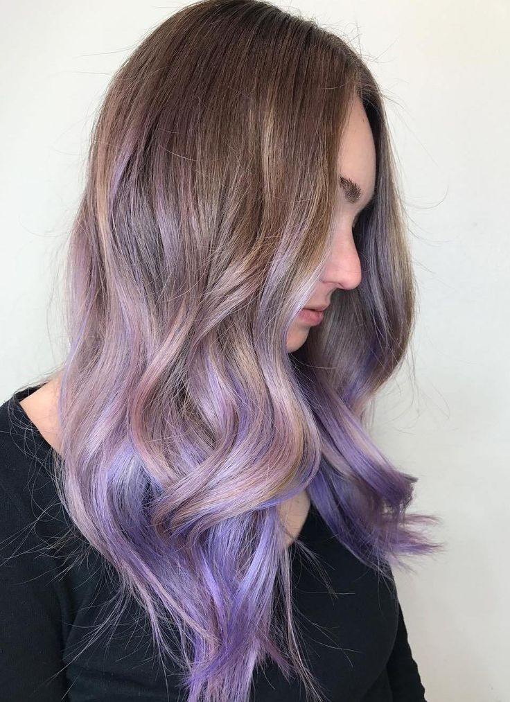 30 luxuriously royal purple ombre hair color ideas part 6 if you want a purple ombre style that looks salon perfect rather than hippie diy solutioingenieria Gallery