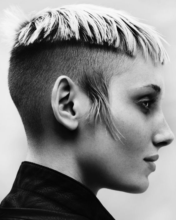 Shave And Haircut: 60 Modern Shaved Hairstyles And Edgy Undercuts For Women