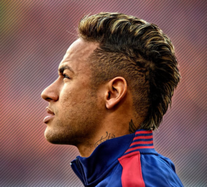 neymar jr mohawk haircut
