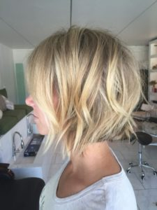 piecey blonde layers