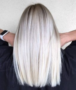 pure platinum color melt