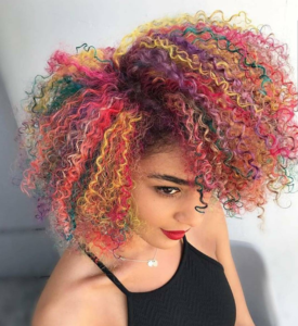 rainbow curls