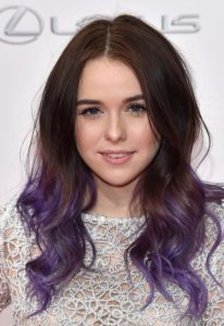 romantic purple ombre