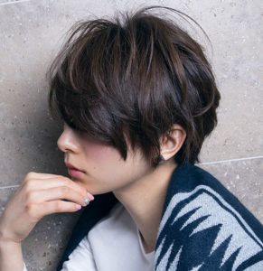 short layered shag