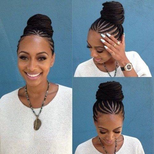 Mature braid styles