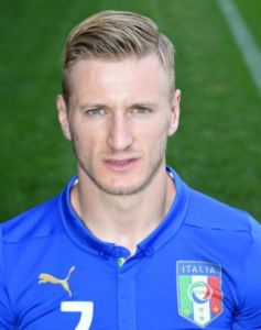 soft parted comb over ignazio abate