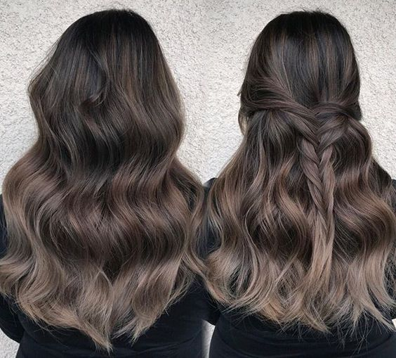 6ash Brown Ombre