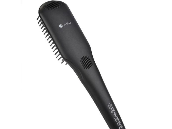 BearMoo Brush Straightener