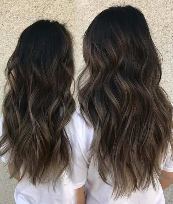 Ash Brown Long Layers