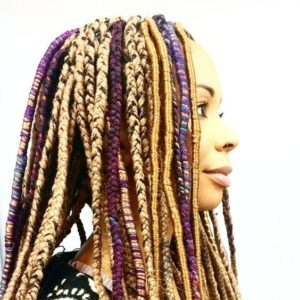 Locs and Braids Style