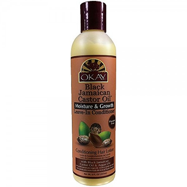 Okay Black Jamaican Castor Oil Leave-In Conditioner