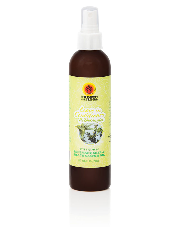 Tropic Isle Living Jamaican Black Castor Oil Leave-In Conditioner & Detangler with Rosemary & Shea