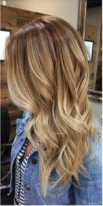 Warm blondes