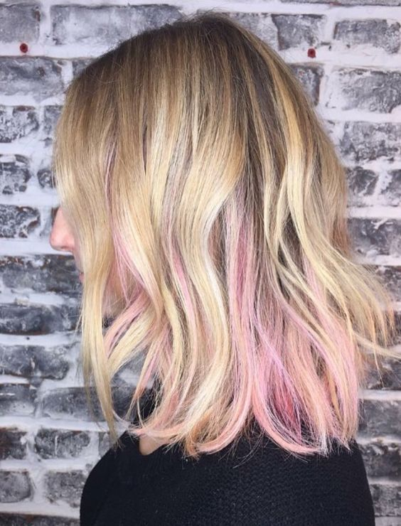 12 Gorgeous Peekaboo Highlights To Enhance Your Hair