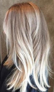 blonde on blonde color melt