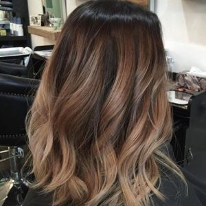 bronde sombre style