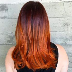 copper color melt