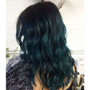 dark rich teal