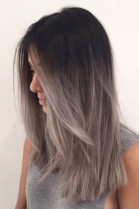 dusty grey color melt