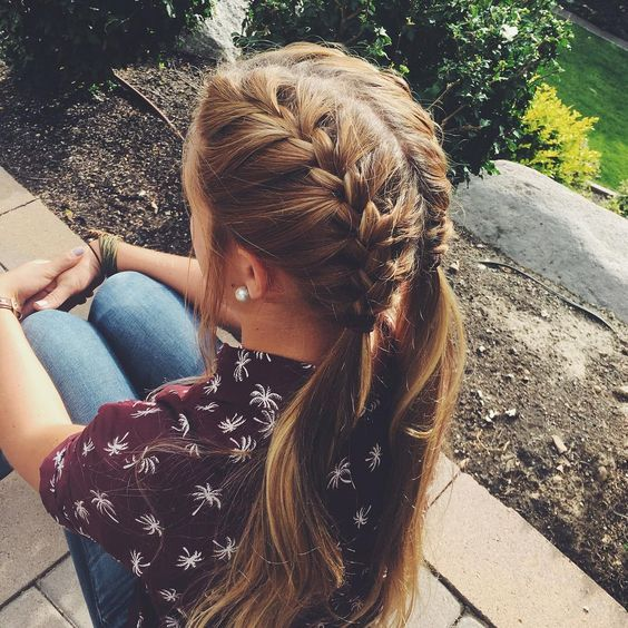 3french Braid Pigtails