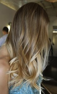 honey blonde sombre