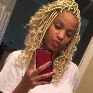 locs with curled ends