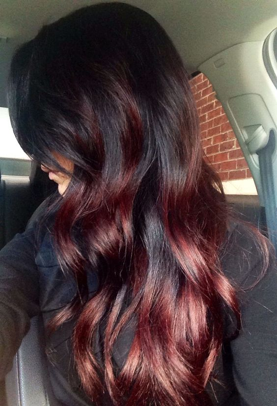 36 Intensely Cool Red Mahogany Hair Color Ideas Part 10