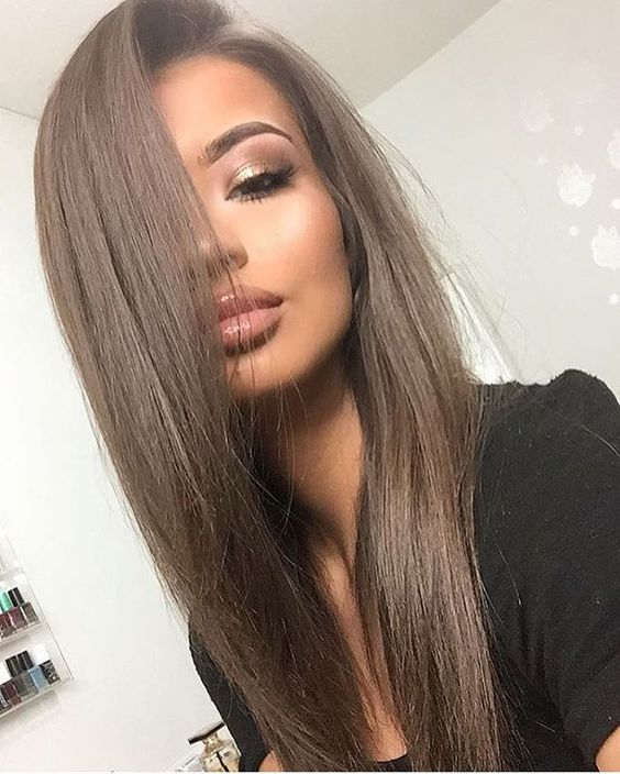 This Medium Chestnut Brown Hair Is The Perfect Neutral Shade And Will Go With Just About Any Skin Tone