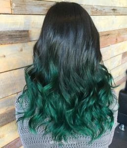 mermaid green color melt