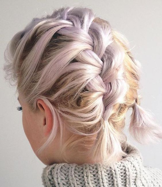 Perfect Prom Hairstyles: 35 Two French Braids Hairstyles To Double Your Style