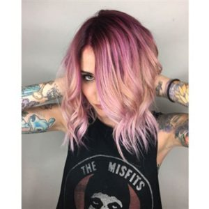 peachy pink color melt