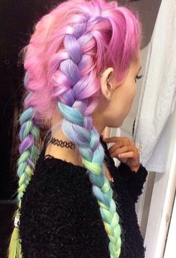 Long Light Purple Hair