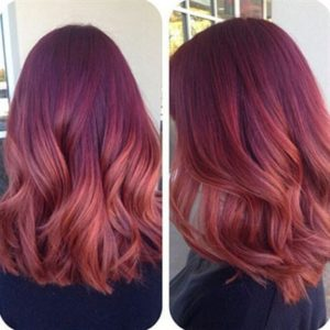 raspberry orange color melt