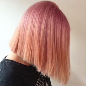 rose gold color melt