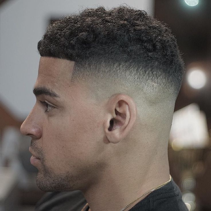 11tapered Caesar Fade Haircut For Black Men