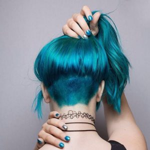 teal blues undercut