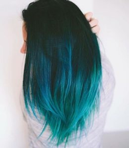 teal color melt