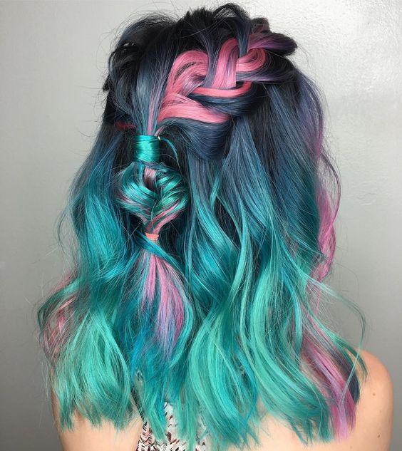 Blue Black Hair Dye On Natural Hair