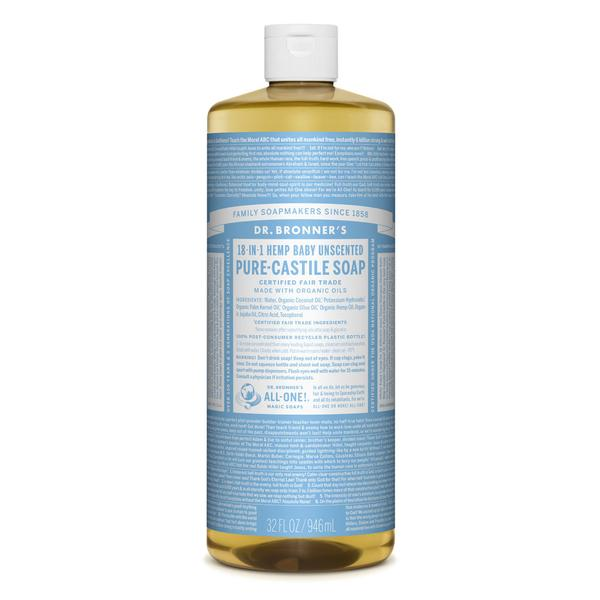 Dr. Bronner's Pure Liquid Castile Soap