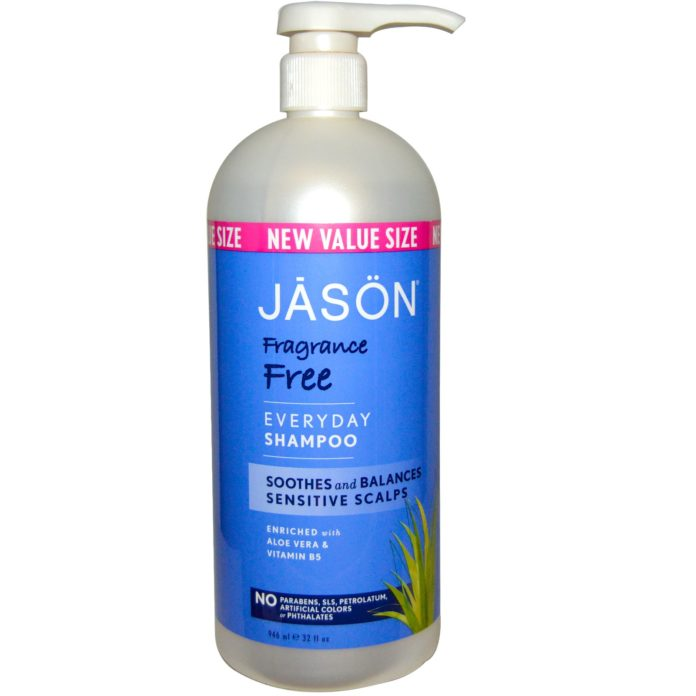 Jason Fragrance Free Shampoo