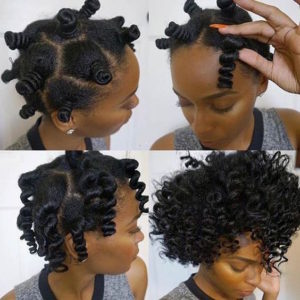 bantu knot out curls