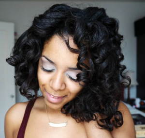 bouncy spiral curls