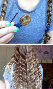 crimped braided waves