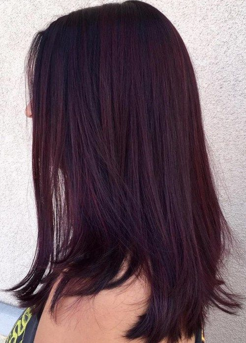 35 Bold And Provocative Dark Purple Hair Color Ideas Part 11