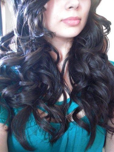 extra long barrel curls