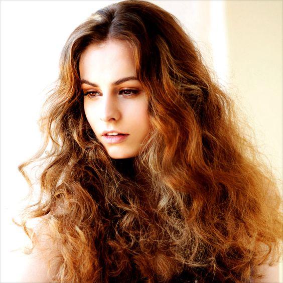 extra long spiral curls